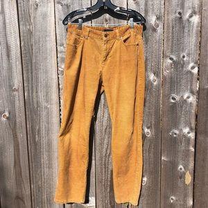 Talbots Heritage Corduroy Jeans Pants In Tan. 12P
